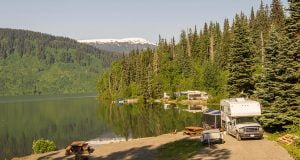 RV Alaska Fishing