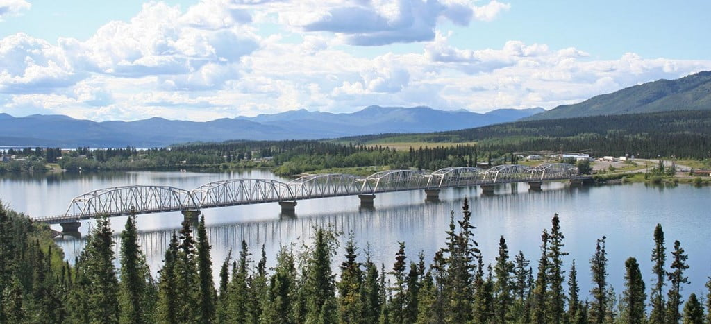 Teslin River Bridge, Alaska Highway