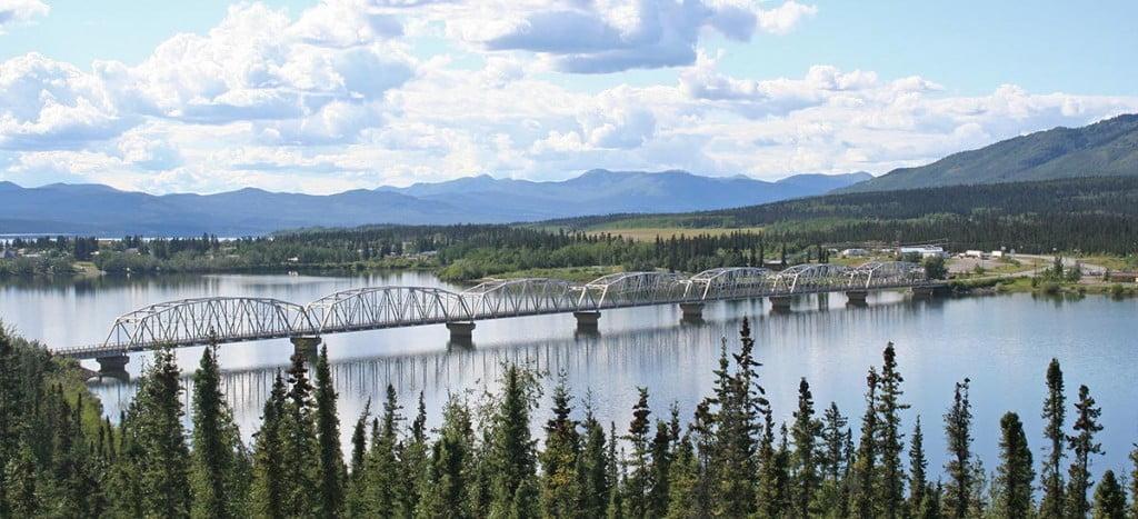 Teslin River Bridge, Alaska Highway