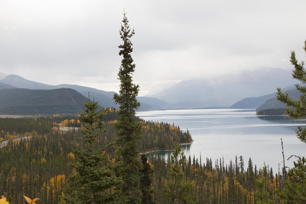 Muncho Lake Lookout, Alaska Highway
