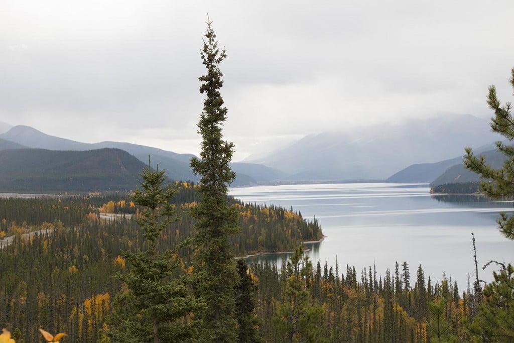 Muncho Lake Lookout, Alaska Highway