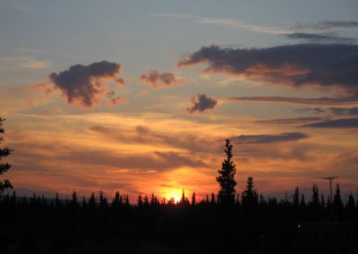 denali-atv-sunset