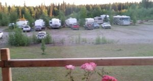 C Lazy Moose RV Park From the Porch