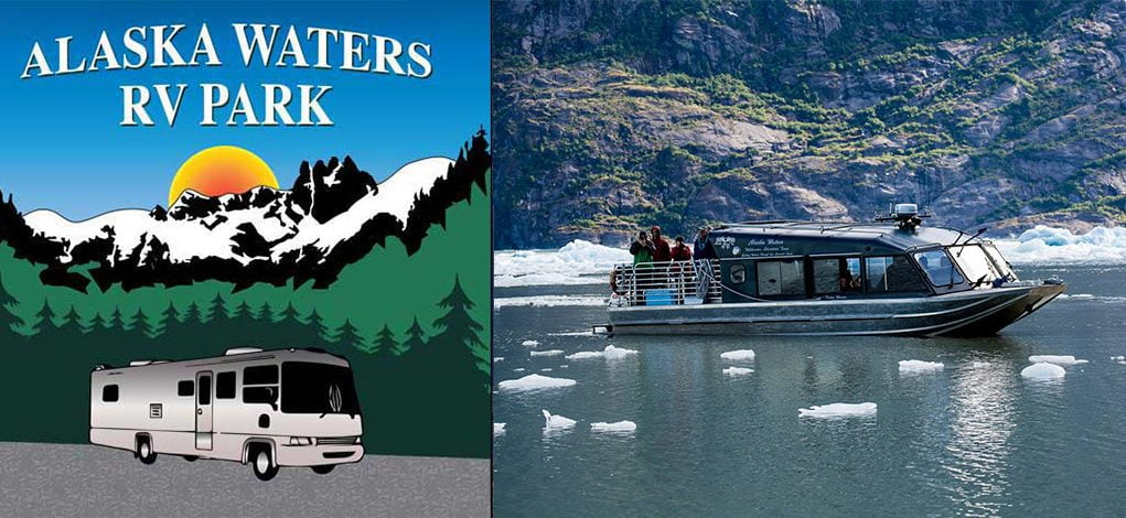 Alaska-Waters-RV-Park-Logo-and-boat-photo-1080w