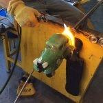 Using Ash to make Glass Car