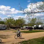 Mile 0 RV Park & Campground RV Park View