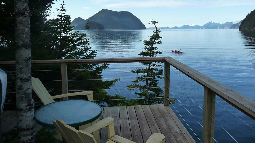 Orca Island Cabins Lookout