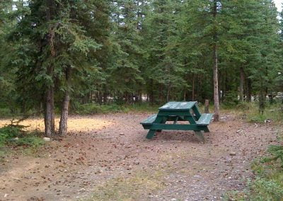 private-wooded-tent-sitessourdough-campground-rv-alaska
