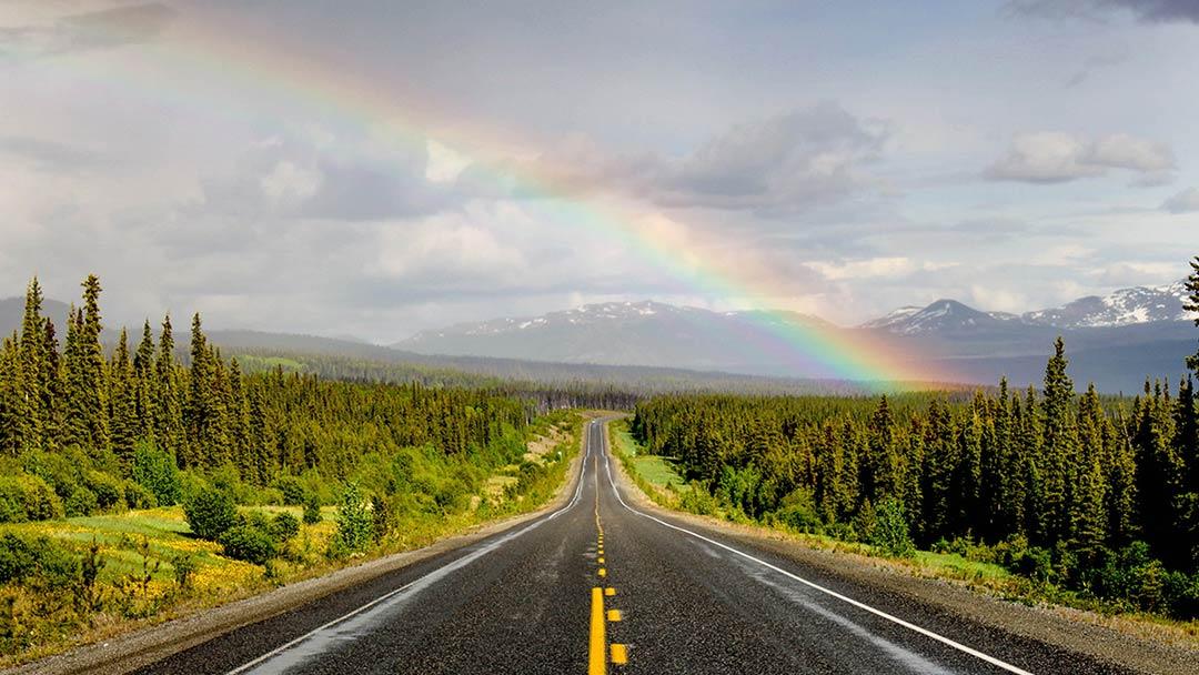alaska highway rv alaska