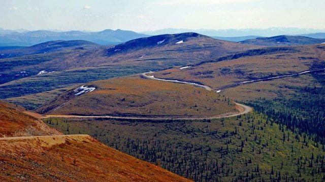 Top of the World Highway - Alaska