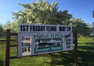 Friday Flings Farmers Market