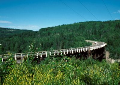 Kiskatinaw River Bridge Photo