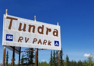 Tundra-RV-Park-Sign-and-Building-tok-alaska