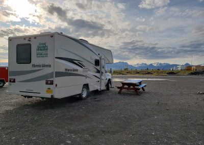 Camping at the Fishing Hole Campground in Homer