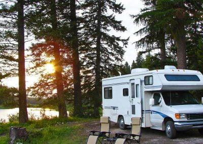 Glenn Highway RV Camping Sites