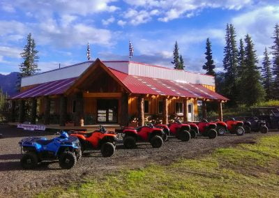 Glacier View Lodge along the Glenn Highway