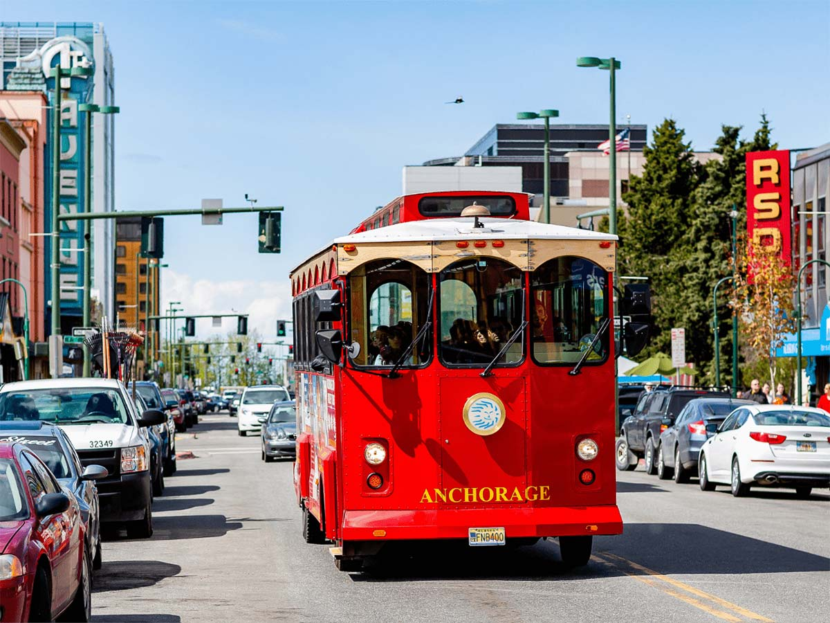 Take an entertaining and educational tour of Anchorage!