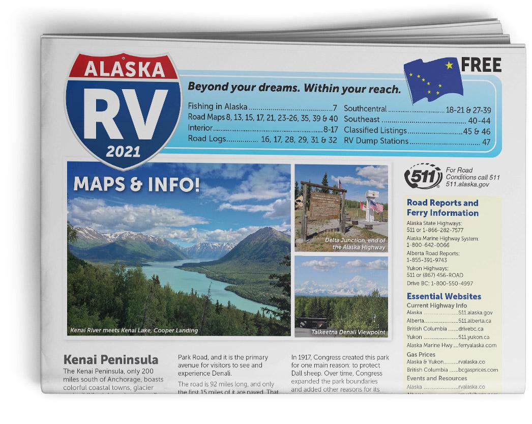 2021 RV Alaska Front Cover