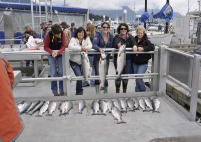 Alaska Fishing - all in a day's work!